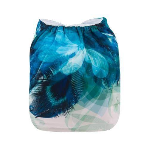 Alva baby reusable OSFM cloth nappy mia back yd186