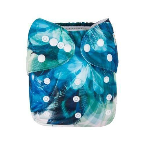 Alva baby reusable OSFM cloth nappy mia front yd186