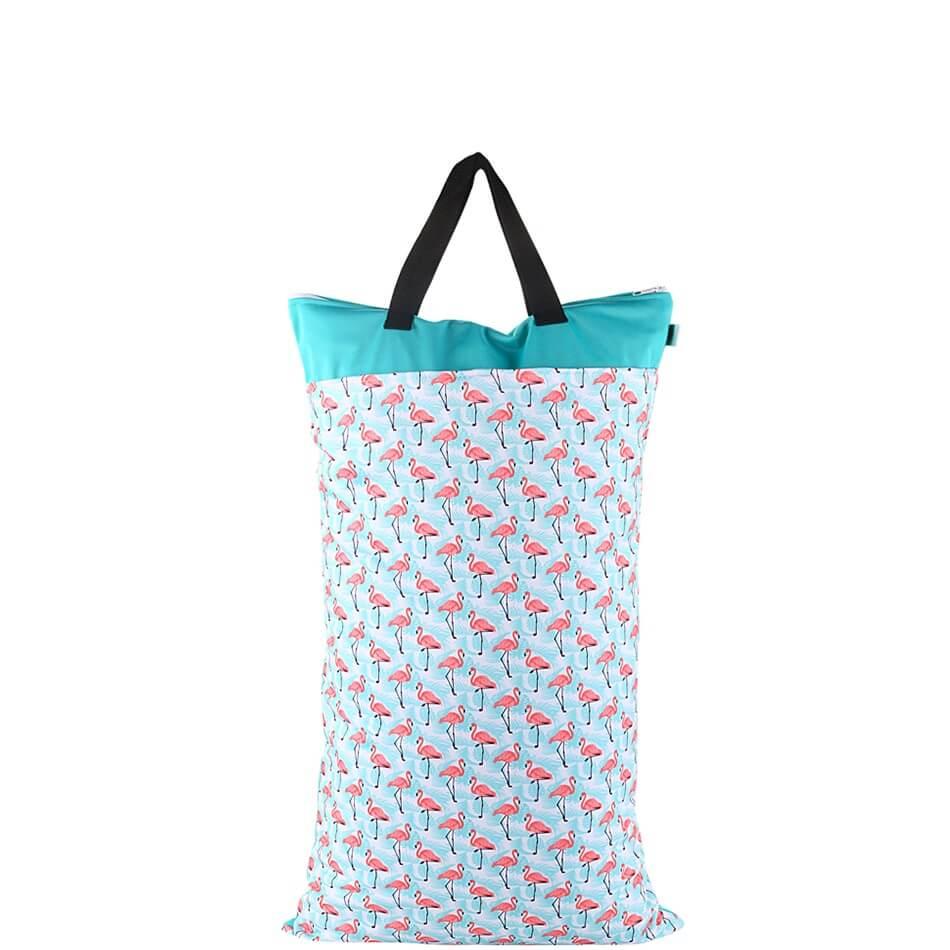 Flamingo Flock Wet Bag 40x70