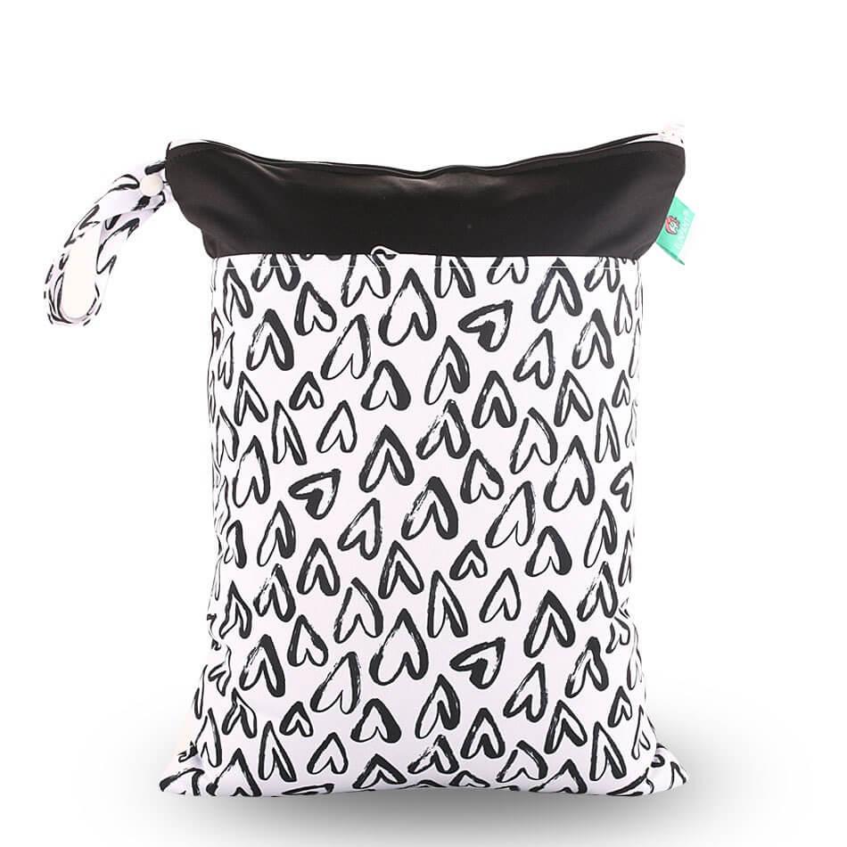 Hearts Wet Bag 30x40