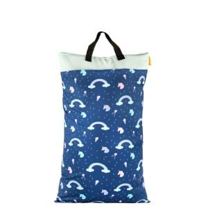 Rainbows Unicorns Wet Bag 40x70
