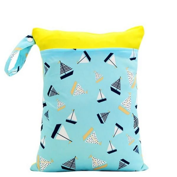 Sail Boats Wet Bag 30x40