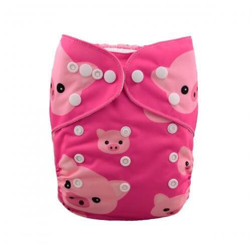 alva baby OSFM pocket nappy 3 little pigs yd35