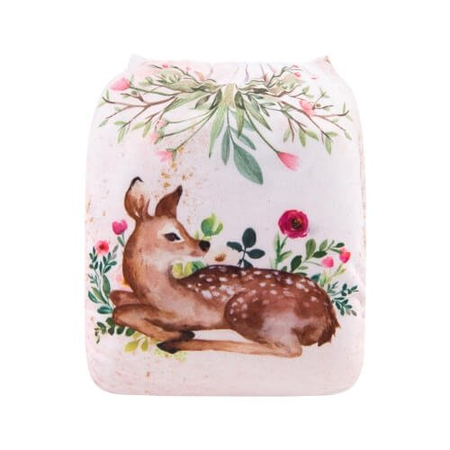 alva baby OSFM pocket nappy bambi back yd191