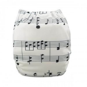 alva baby OSFM pocket nappy beethoven back yd26