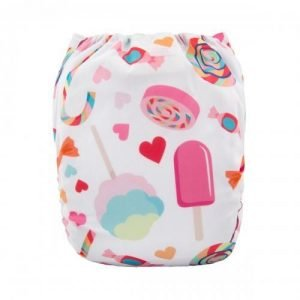 alva baby OSFM pocket nappy candy shop back h077