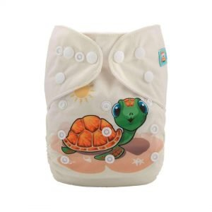 alva baby OSFM pocket nappy franklin front yd152