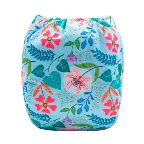 alva baby OSFM pocket nappy little quinn back h110