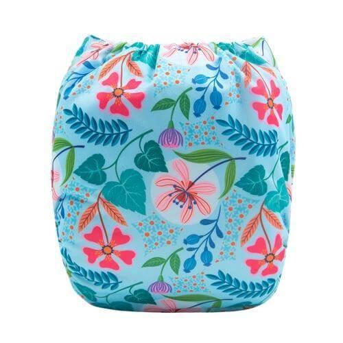alva baby OSFM pocket nappy little quinn back h110