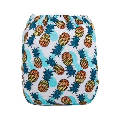alva baby OSFM pocket nappy pina colada back h137