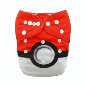 alva baby OSFM pocket nappy pokemon front yd63