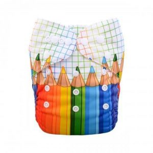 alva baby OSFM pocket nappy schools out yd69