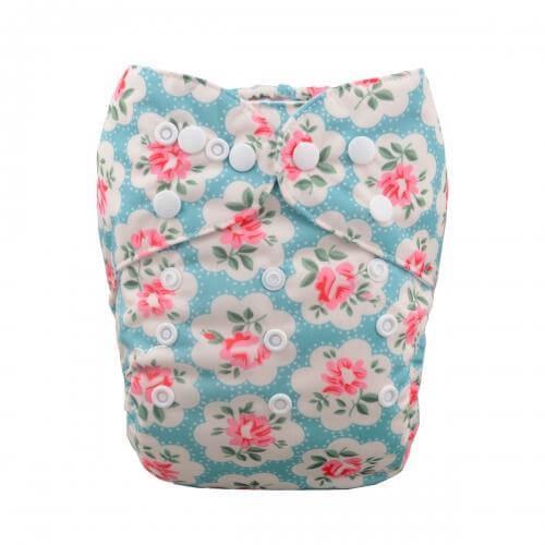 alva baby OSFM pocket nappy verlie front h051