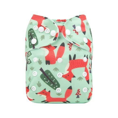alva baby OSFM pocket nappy what did the front h172