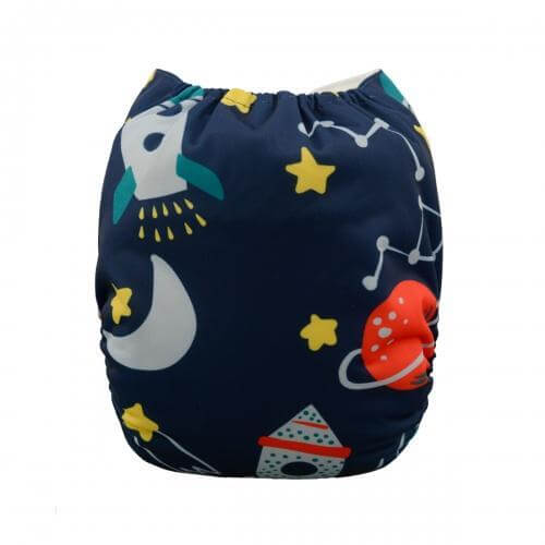 alva baby OSFM pocket nappy william back yd30