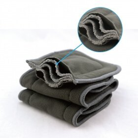 5 Layer Bamboo Charcoal Blend Insert FMB02