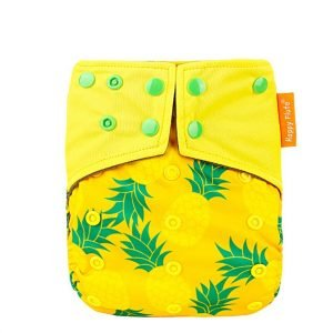 bamboo charcooal OSFM pocket nappy life is sweet EF264