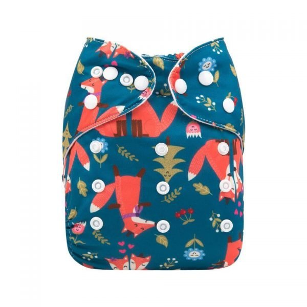alva baby OSFM pocket nappy carter front h177