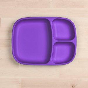 re play divider tray kids tableware amethyst 2