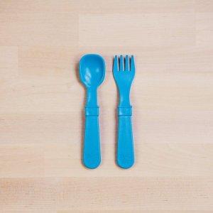 re play kids tableware set sky blue 7