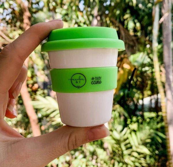 Archer I Babychino Cups Green