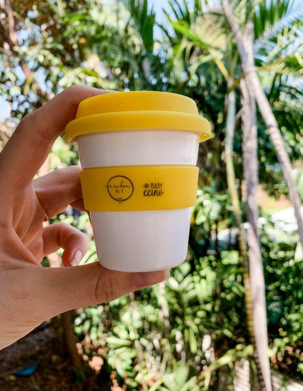 Archer I Babychino Cups Yellow