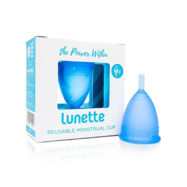 Lunette Menstrual Cup Blue 2
