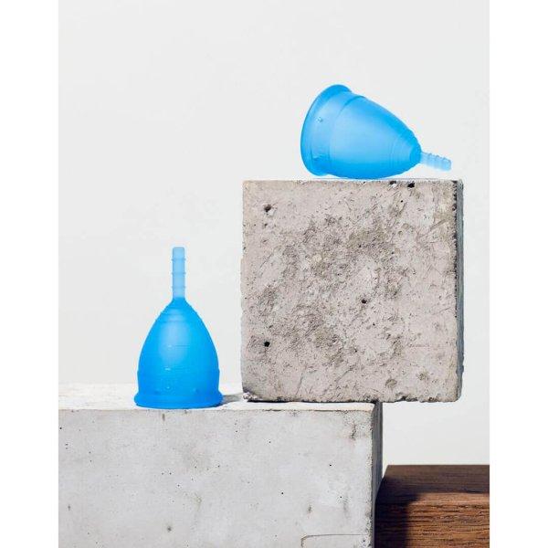 Lunette Menstrual Cup Blue