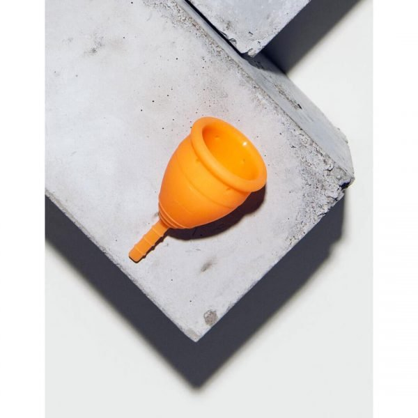 Lunette Menstrual Cup Orange