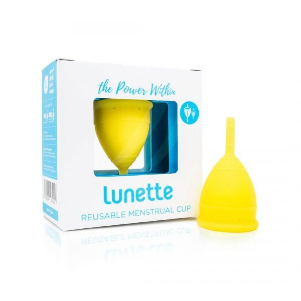 Lunette Menstrual Cup Yellow 1