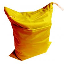 Sunny Yellow small wet bag L07