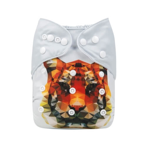 alva baby OSFM pocket nappy mufasa back ydp01