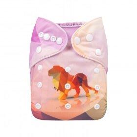 alva baby OSFM pocket nappy nala front