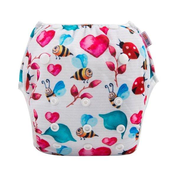 Bee Mine swim napy alva baby sw82