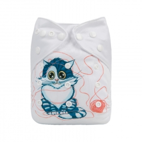ydp04 alva baby cloth nappy front grannys cat